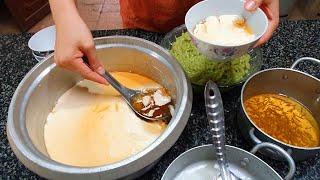 Làm TÀU HỦ NÓNG BÁNH LỌT nước cốt dừa | Miền Tây TV