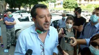 Salvini: «Berlusconi al Quirinale? Votiamo un nuovo parlamento, ne parleremo nel 2022»