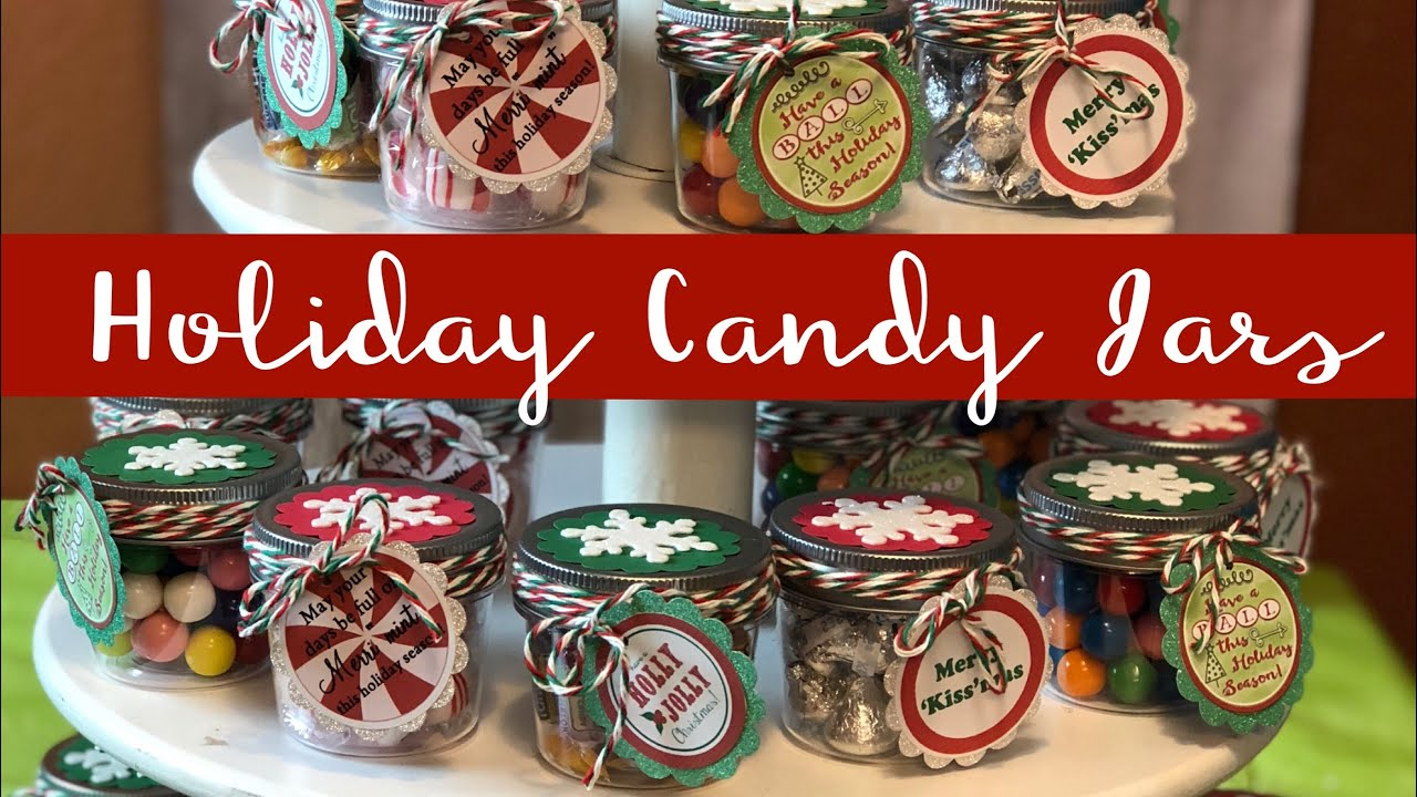 Craft Fair Idea 20 Christmas Candy Jars 2018 Youtube