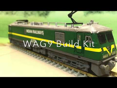 The Pink Engine – Indian Railways WAG-9 Build Kit HO Scale Model