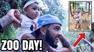 LONDYN'S 1ST TIME @ THE ZOO! 🤣