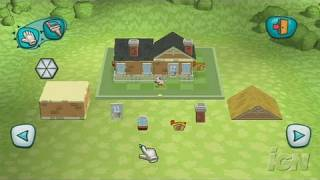 MySims Nintendo Wii Gameplay - Roaming and Building