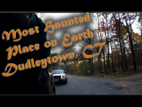 EXPLORING MOST HAUNTED PLACE ON EARTH!! - DUDLEYTOWN, CT - PT.2