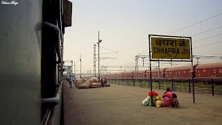 [HD] Chhapra Junction- IZN WDP-4D Bagh Exp meets IZN YDM-4 !!