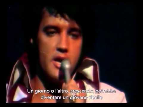 Don't Cry Daddy - In The Ghetto (live) - Elvis Presley (Sottotitolato)