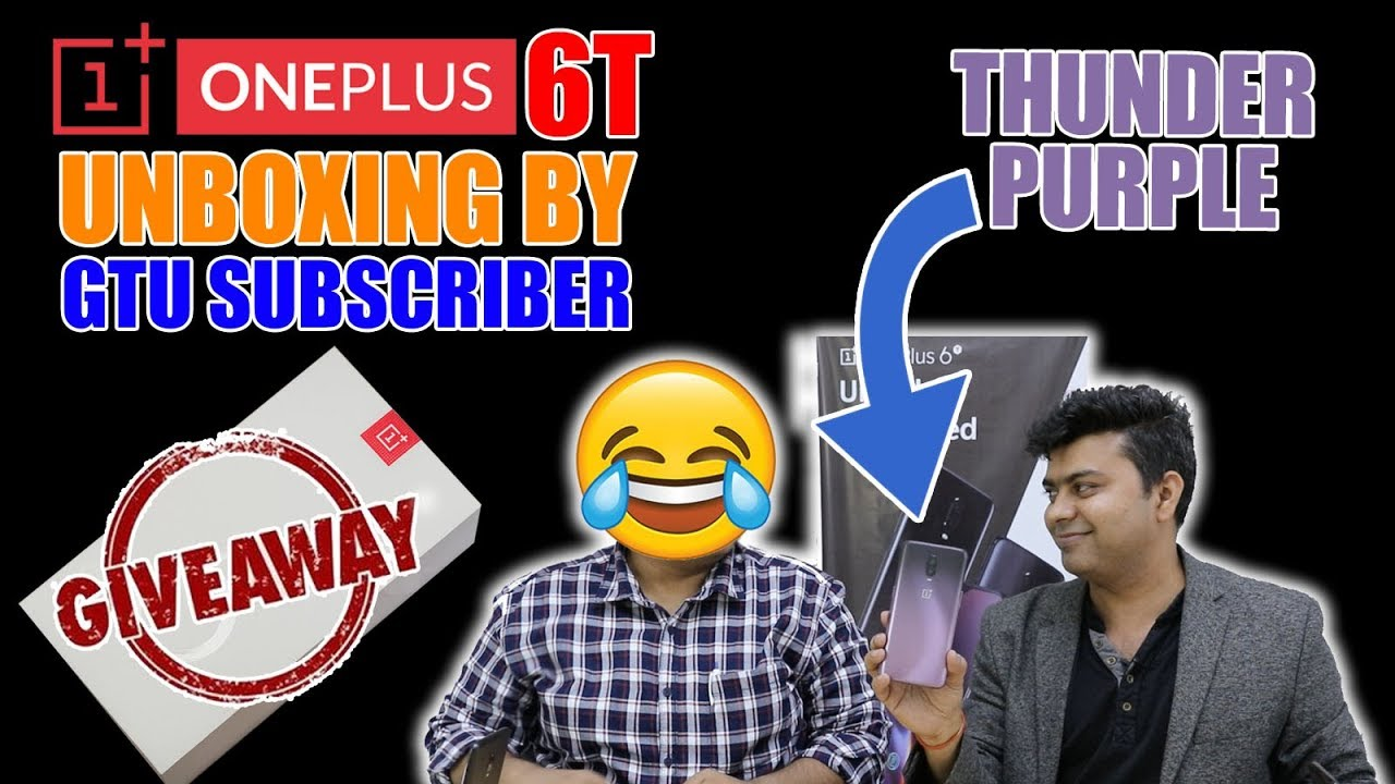 oneplus 6t giveaway giveaway oneplus 6t purple edition unboxing by gtu 5491