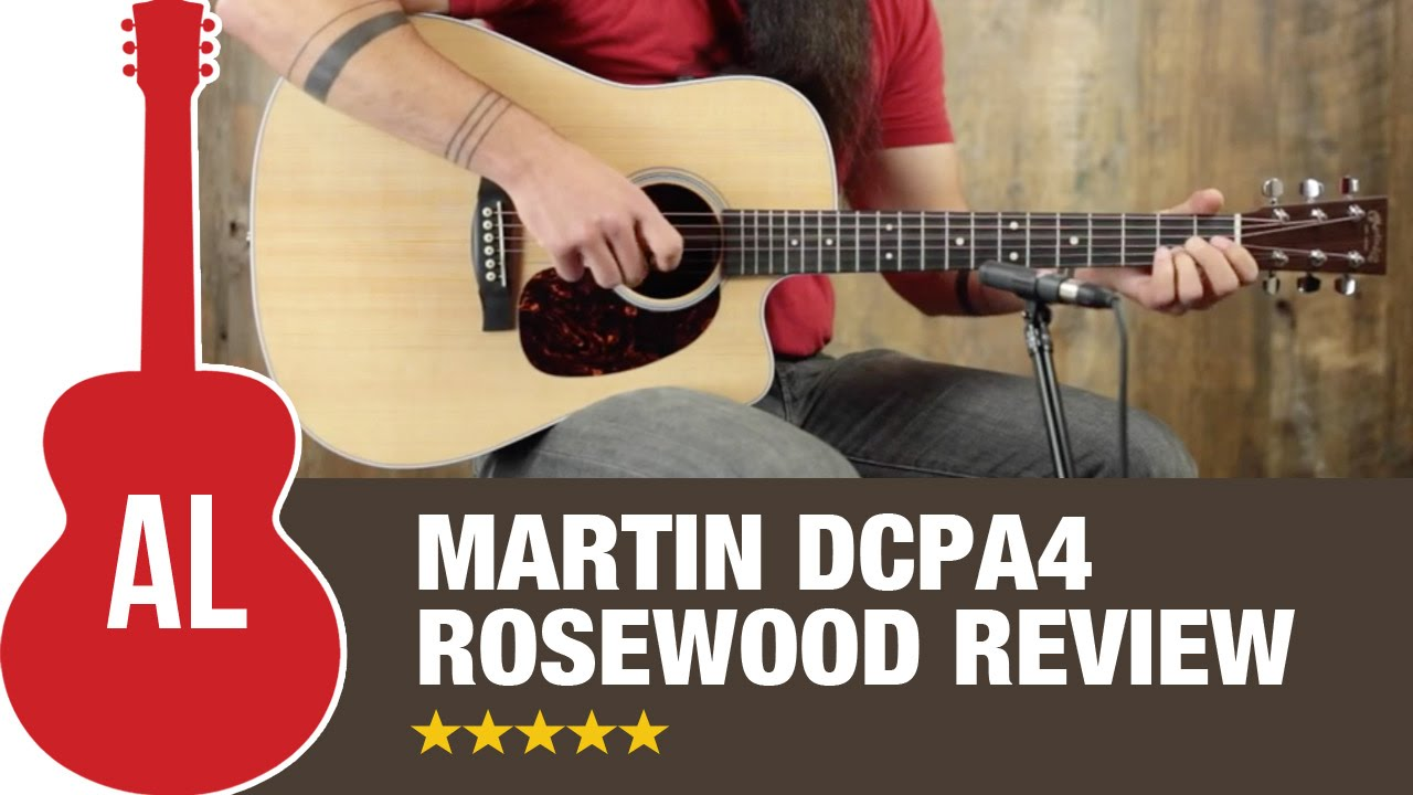 martin dcpa4 rosewood review youtube
