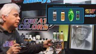 الزئبق والكروم دي CREATEX الألوان COMO USAR