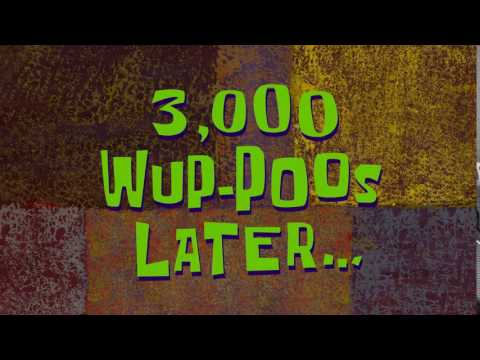 3,000 Wup-Poos Later... | SpongeBob Time Card #135