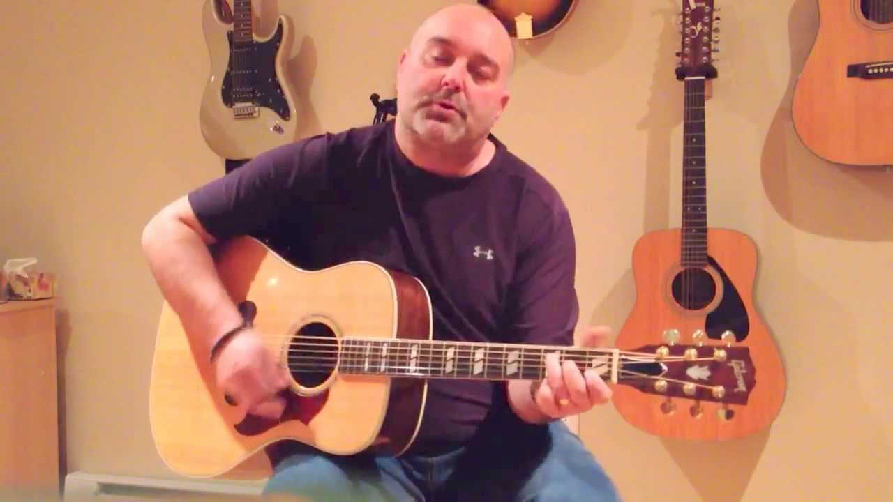 How To Play Pink Houses John Mellencamp Cover Easy 4 Chord