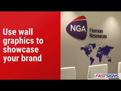 Maximize Branding In Your Conference Room With Unique Signs And Graphics | FASTSIGNS®