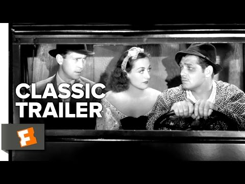 Love on the Run (1936) Official Trailer - Clark Gable, Joan Crawford Movie HD