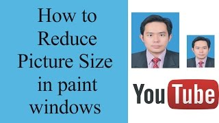 how to reduce picture size in paint windows