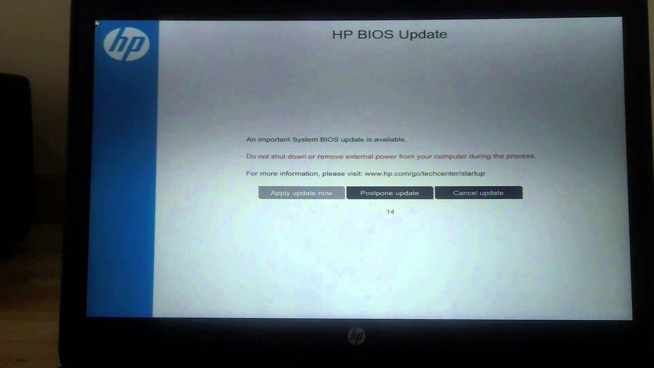 HP SureStart demo with EliteBook 840 G1