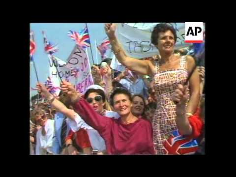 Thatcher After 1979 Election Victory, Falklands Conflict