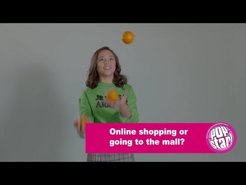 Breanna Yde Rapid Fire Questions while juggling with Popstar!