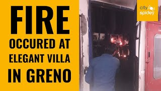 Fire at 9th floor in Elegant  Villa