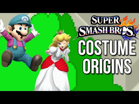 Super Smash Bros. Costume Origins - Mario Series