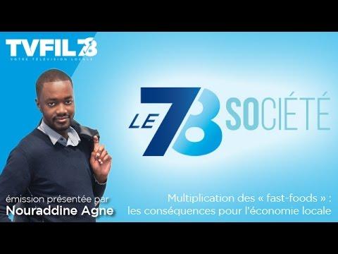 """Le 7/8 Société – Multiplication des """"fast-foods"""" : les conséquences pour l'économie locale"""