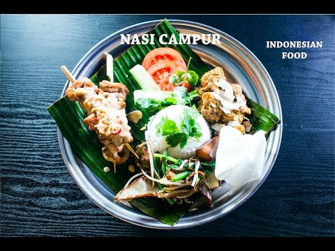Nasi Campur de Indonesia   Bali by Somewhere cafe