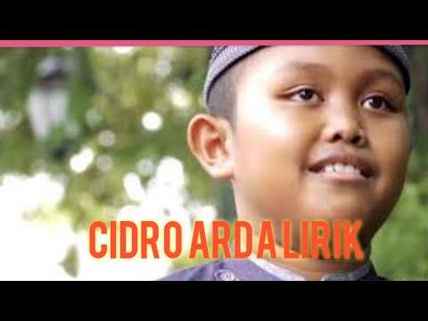 cidro-arda-lirik