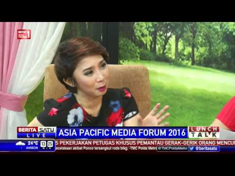 Lunch Talk: Asia Pacific Media Forum 2016 #1