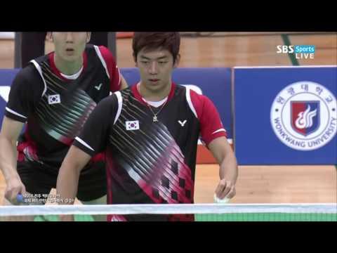 Final Victor Korea Grand Prix Lee Yong Dae Yoo Yeon Seong vs Ko Sung Hyun Shin Baek Cheol