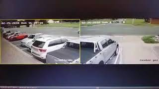Watch them steal a FORD RANGER