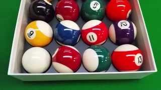 Billiard Balls - Aramith Standard 2