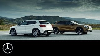 The new GLA  Fitness programme for compact SUV – Trailer – Mercedes Benz original
