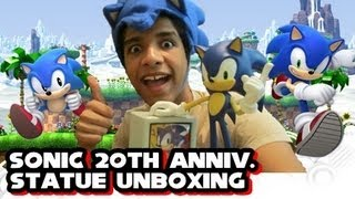 Sonic the Hedgehog 2 Genesis - Sonic 20th Anniversary Statue First4Figures Unboxing!