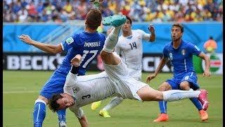 FWC 2014 - Italy v Uruguay - International Sign Highlights