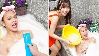 23 BEST PRANKS AND FUNNY TRICKS | PAUSE CHALLENGE! Prank Wars! Pause Challenge For 24 Hours by T-FUN