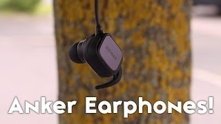 Anker Soundbuds Sport Wireless Earphones Review! [BEST RUNNING EARPHONES?!]