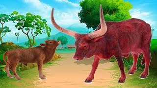 Learn Colors For Children With Cow - Learn Animals Name and Sounds For Kids – Wow Toddlers
