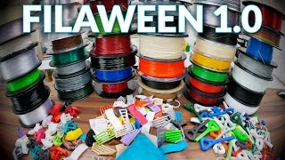 What I learned from reviewing 30 different filaments! #Filaween