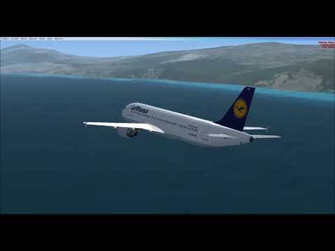 FSX: Bogota to Caracas with an A320