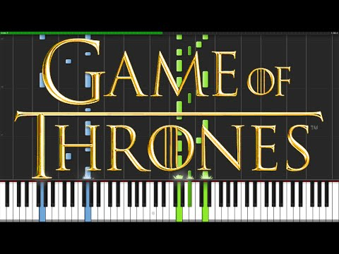 Game of Thrones Theme [Piano Tutorial] (Synthesia) // Ian Yan