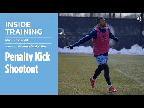 Panenka During Penalty Kick Shootout | INSIDE TRAINING