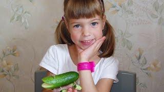 Крокодил из огурца. Как сделать поделки из овощей для детского сада. Дары осени.