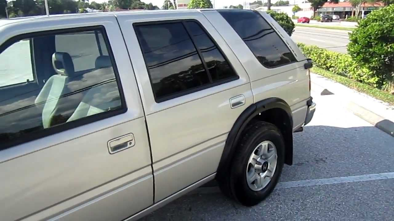 Sold 1996 honda passport 4x4 automatic 45k miles meticulous motors inc florida for sale youtube