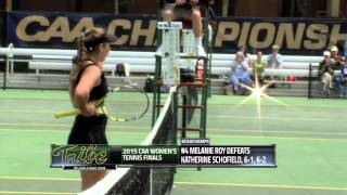 2015 #caachamps Women's Tennis Finals -- #1 William & Mary 4, #2 College Of Charleston 0