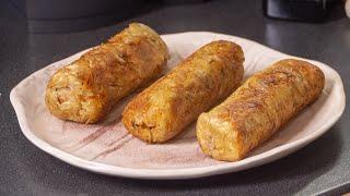 Вас будут просить готовить ещё!!! Жареные Сосиски в картошке. Новые Деруны из Минска эпохи Лукашенко
