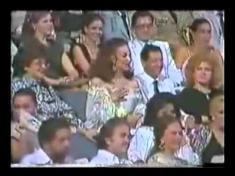 María Bonita. Plácido Domingo y María Félix 1987