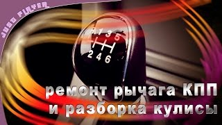 Разборка и ремонт кулисы Ремонт кулисы(, 2016-09-23T18:03:55.000Z)