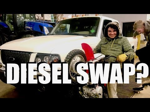 Diesel Swapped Ranger EXPLAINED!