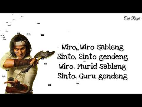 Wiro Sableng - Sanca Records Lirik (Musik Vidio)