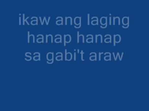 sa aking puso jessa zaragoza and dingdong avanzado with lyrics