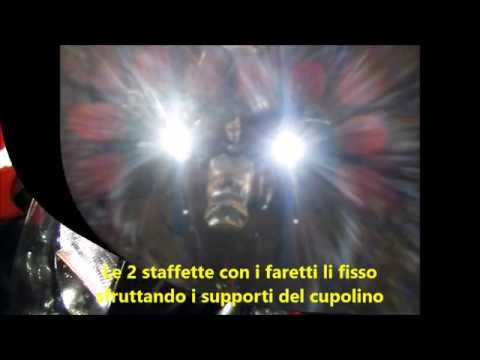 Givi S310 additional halogen spotlights unpacking  FunnyDog.TV