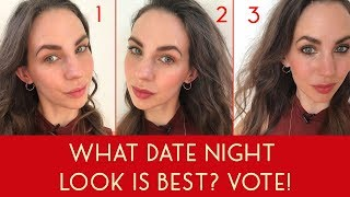 What Date Night Look Is Best? Vote! (Valentine's Day Social Experiment) #ad